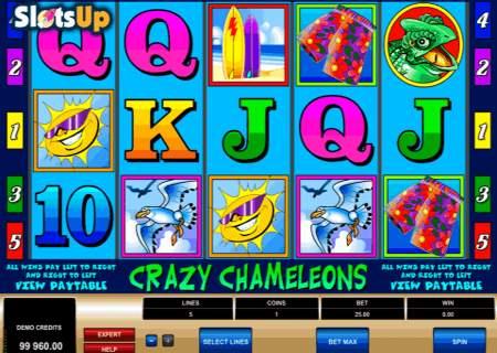 Craxy Chameleons Slot Game
